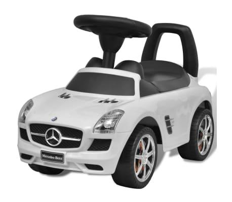 mercedes benz rutsch kinderauto wei g nstig kaufen. Black Bedroom Furniture Sets. Home Design Ideas