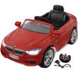 BMW Elektroauto mit Fernbedienung Kinderfahrzeug Rot