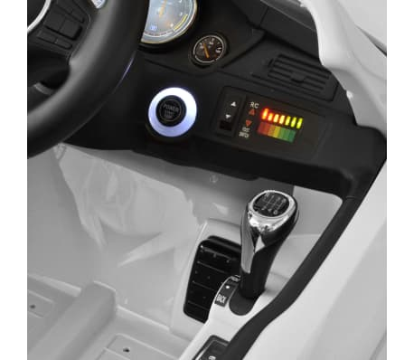 acheter bmw voiture enfant batterie avec t l commande blanc pas cher. Black Bedroom Furniture Sets. Home Design Ideas