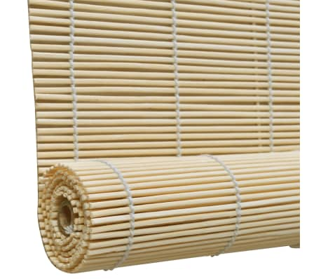 Rolgordijn Bamboe 140 x 160 cm (Naturel)[3/5]