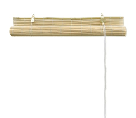 Rolgordijn Bamboe 140 x 160 cm (Naturel)[4/5]
