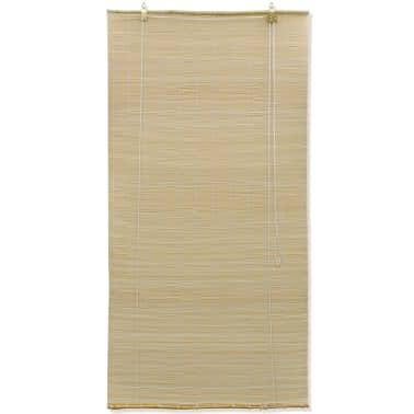 Rolgordijn Bamboe 140 x 160 cm (Naturel)[2/5]
