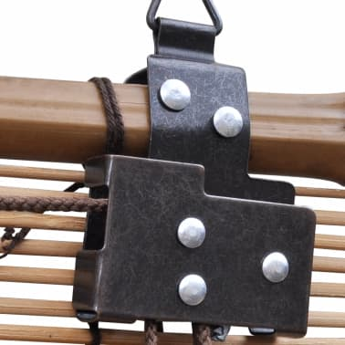 Rullegardin i bambus 120 x 160 cm brun[3/5]