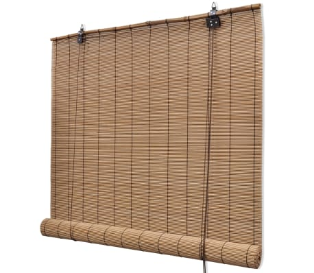 vidaXL Store roulant Bambou Marron 150 x 220 cm[1/5]