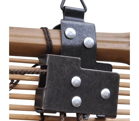 vidaXL Store roulant Bambou Marron 150 x 220 cm[3/5]