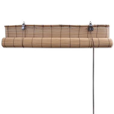 vidaXL Store roulant Bambou Marron 150 x 220 cm[5/5]