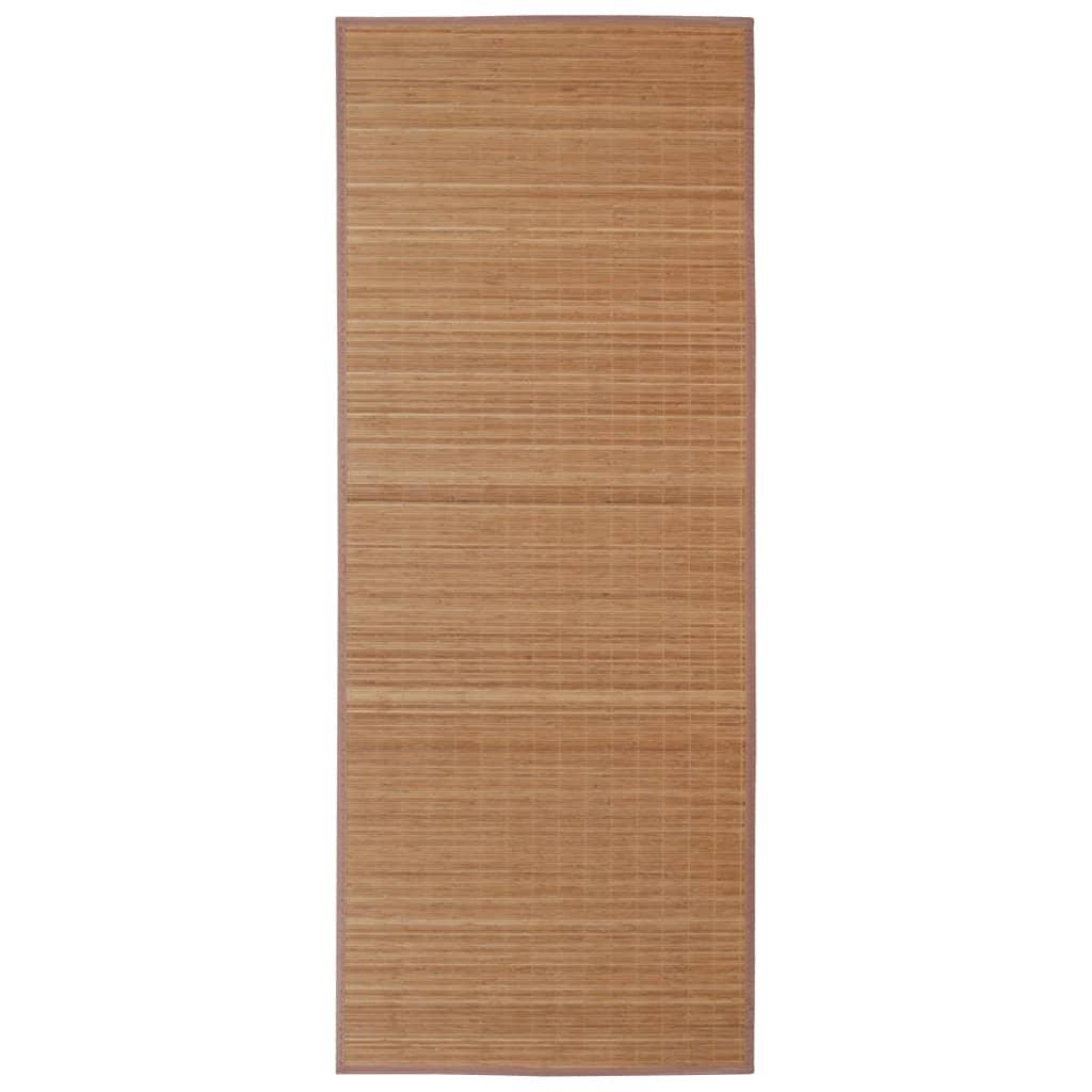 Afbeelding van vidaXL Bamboemat rechthoekig 120 x 180 cm (bruin)
