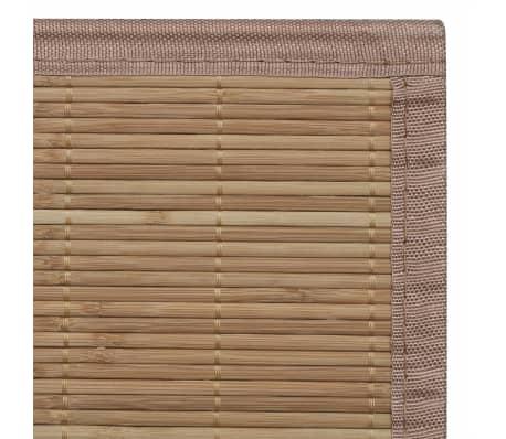 Rechteckig Brauner Bambusteppich 150 x 200 cm[6/6]