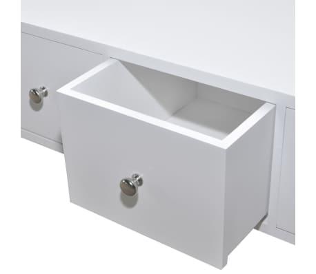 vidaXL Dulap cu 4 sertare din lemn, alb[4/6]