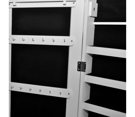 acheter armoire bijoux sur pied avec miroir et clairage led pas cher. Black Bedroom Furniture Sets. Home Design Ideas