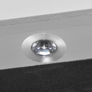 White Free Standing Jewellery Cabinet With Led Light And