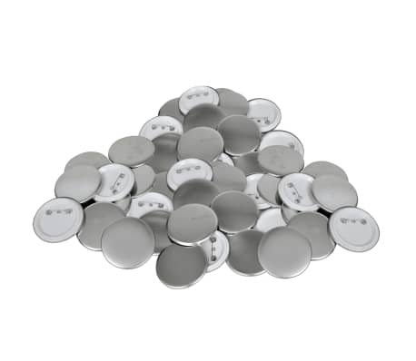 500 pcs Pinback Button Parts 2.3""