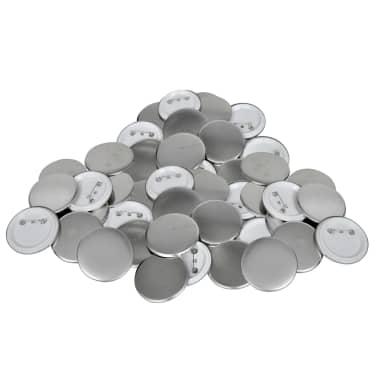"""1.7"""" Pinback Button Parts 500 Sets[1/3]"""
