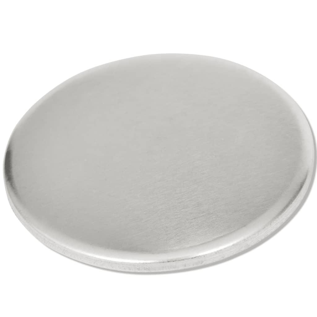 vidaXL Buttononderdelen met een diameter van 44 mm (500 sets)