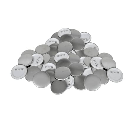 "1"" Pinback Button Parts 500 Sets[1/3]"