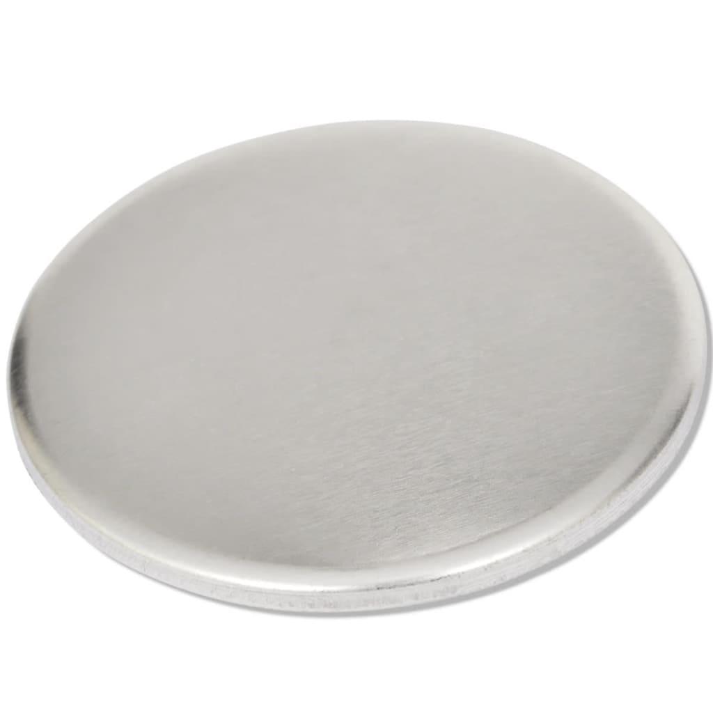 vidaXL Buttononderdelen met een diameter van 25 mm (500 sets)