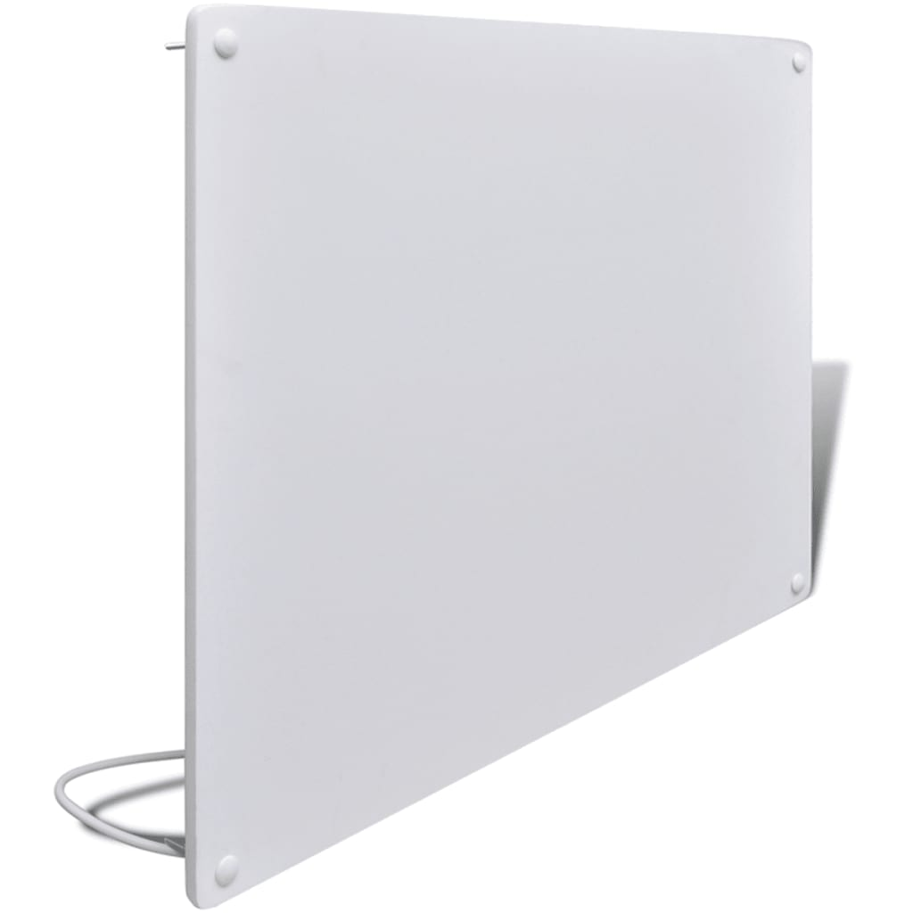 Bílý infračervený topný panel nástěnný 550W 80 x 60 cm