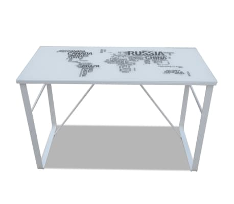 Rectangular Desk with Map Pattern[4/6]
