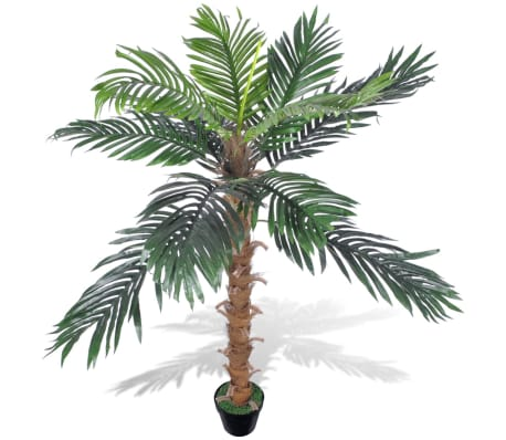 "Artificial Plant Coconut Palm Tree with Pot 55""-picture"