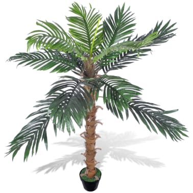 "Artificial Plant Coconut Palm Tree with Pot 55""[1/2]"