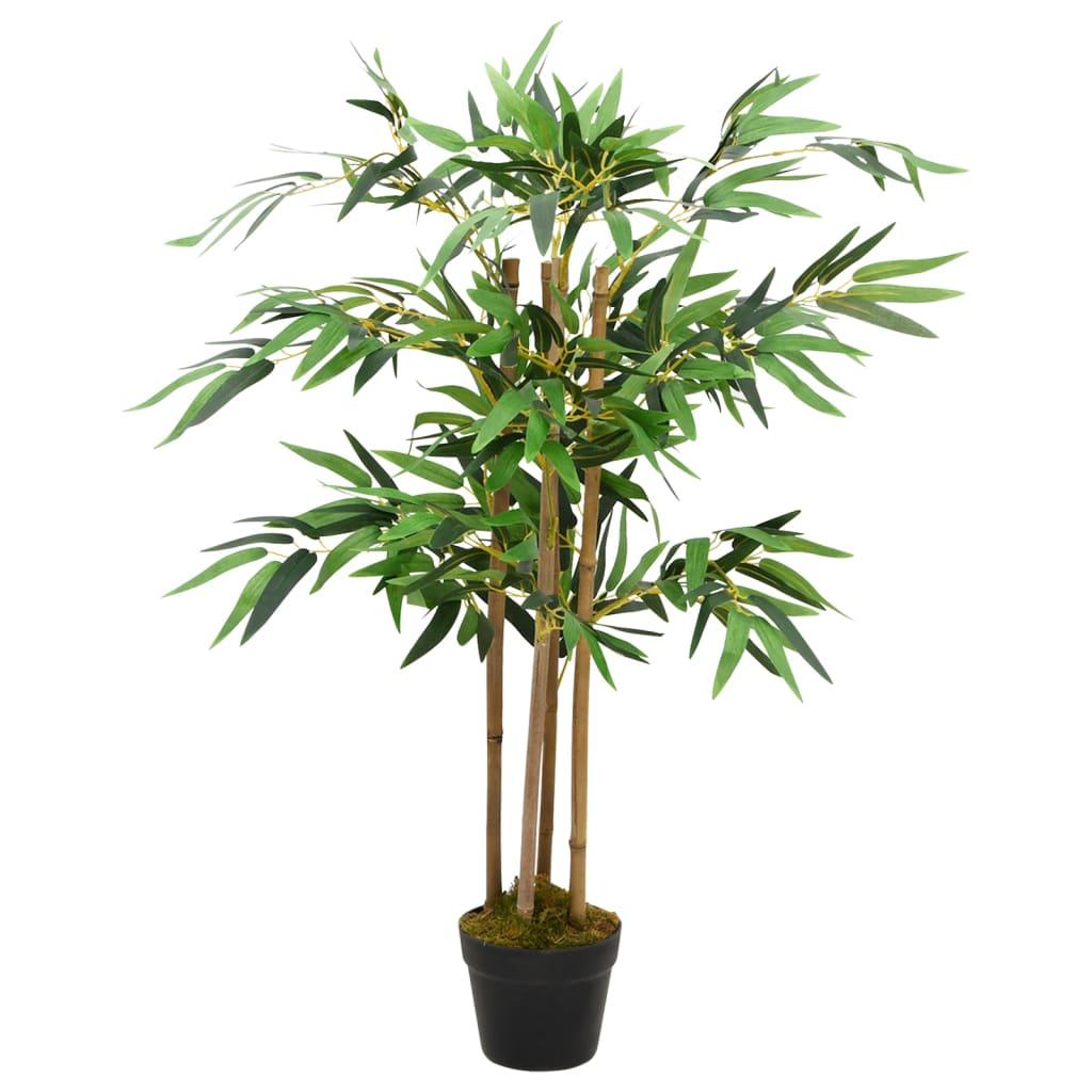 Kunstmatige bamboe plant Twiggy met Pot 90 cm