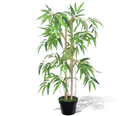 "artificial bamboo plant ""twiggy"" with pot 35"" 