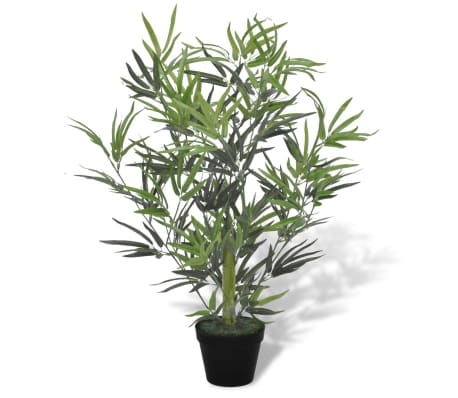 "Artificial Bamboo Tree with Pot 31""[1/2]"
