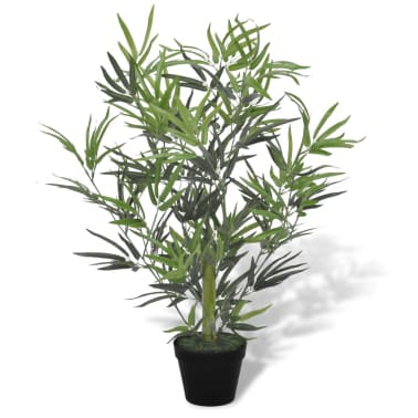 vidaXL Artificial Bamboo Tree with Pot 80 cm[1/2]