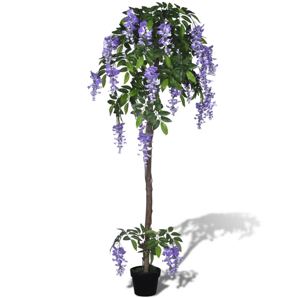 Umělá vistárie v květináči 160 cm