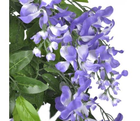 Kunstplant blauwe regen met pot 160 cm[2/2]
