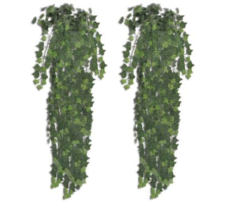 2 kpl Keinotekoinen Vihreä Murattipensas 90 cm-picture