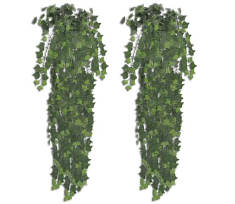 vidaXL Konstgjord murgröna 2 st grön 90 cm[1/2]