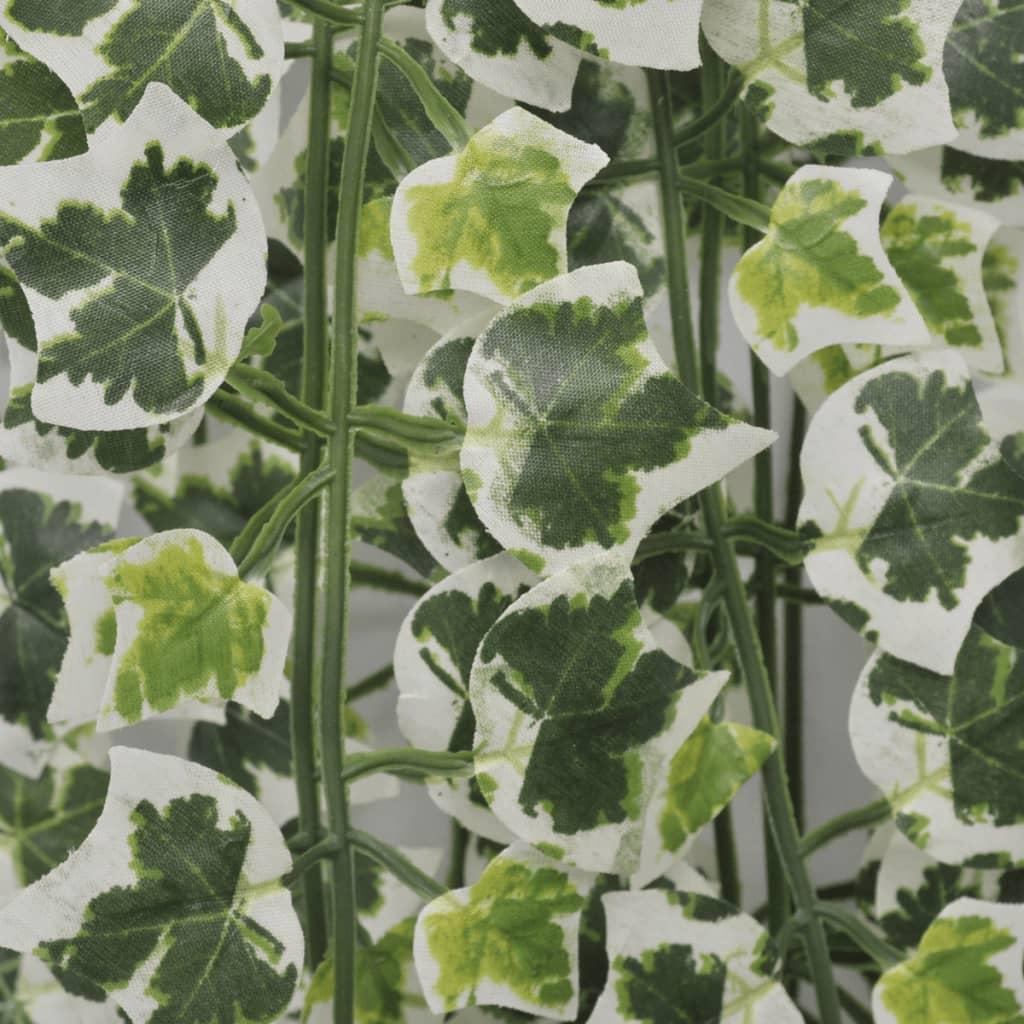 vidaXL Kunstplant met verschillende klimopsoorten 90 cm