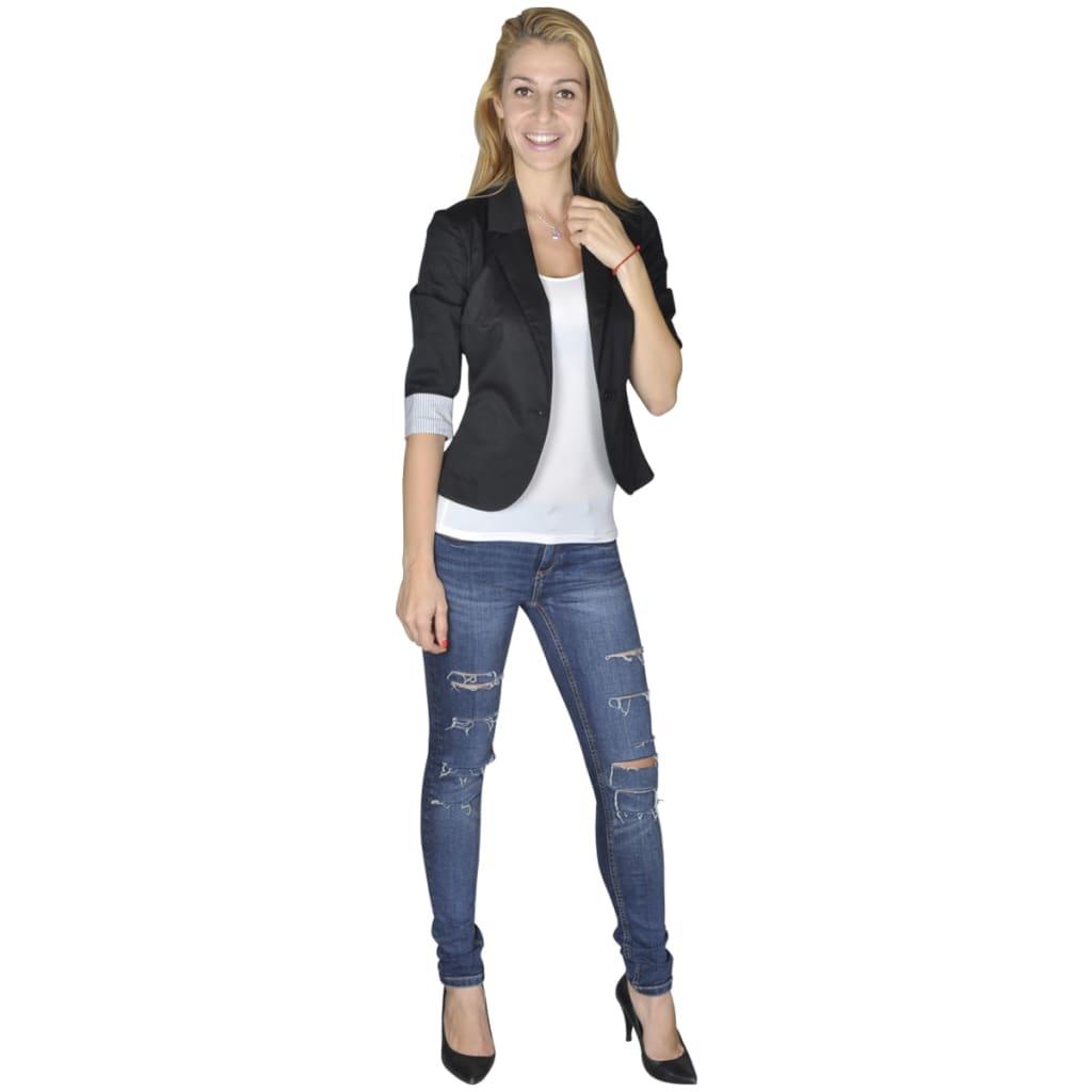Dámské sako, velikost 38, černé