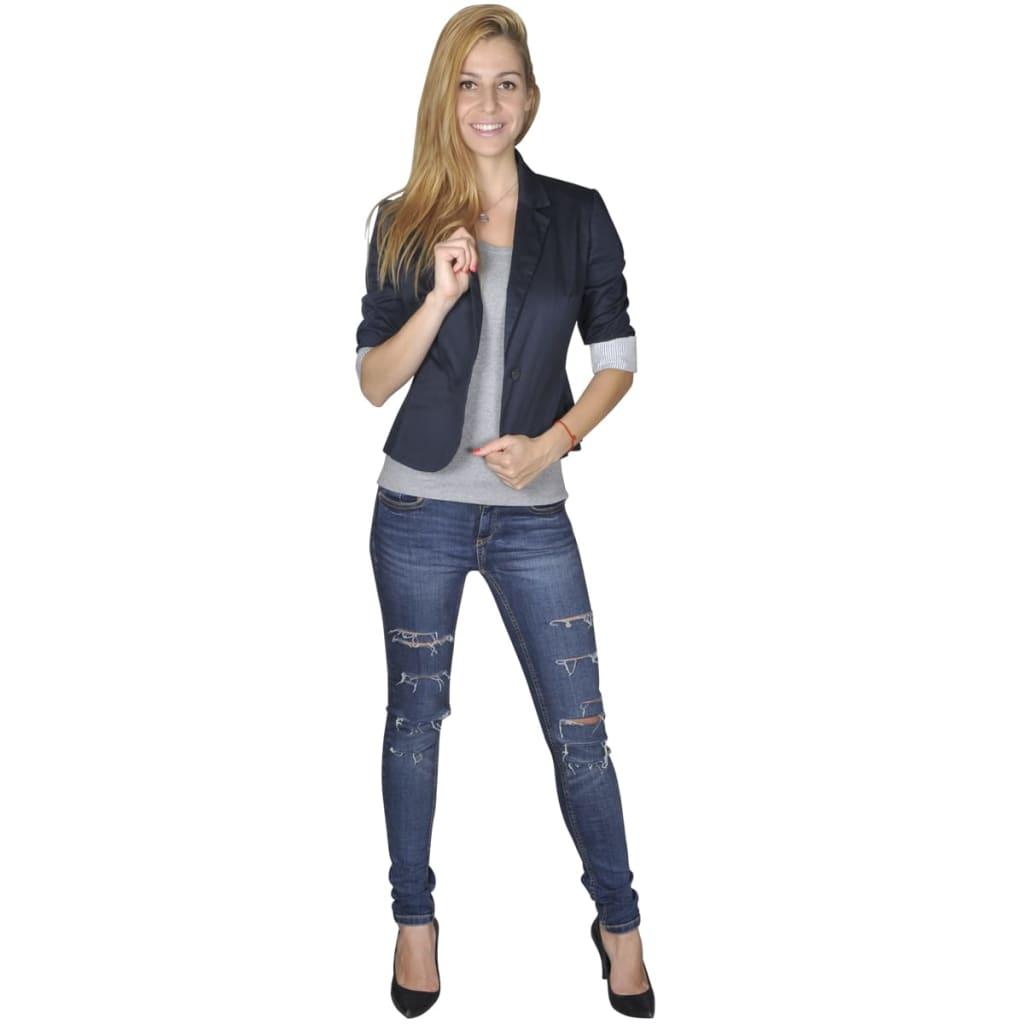 Dámské sako, velikost 38, námořnická modrá
