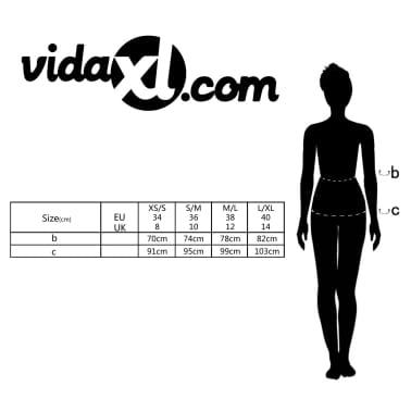 Mini falda con cinturón, Talla 34, Negro[4/4]