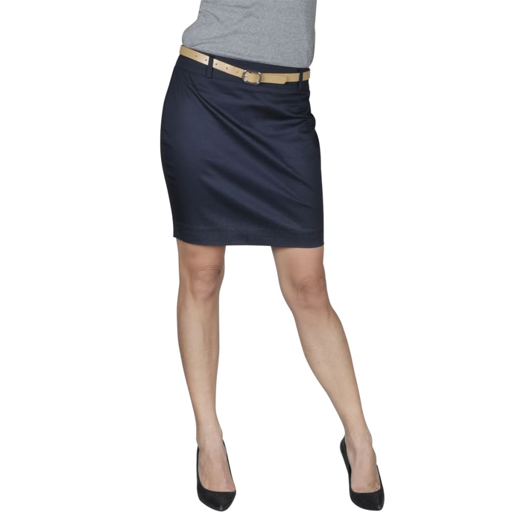 Minisukně s páskem, velikost 38, námořnická modrá