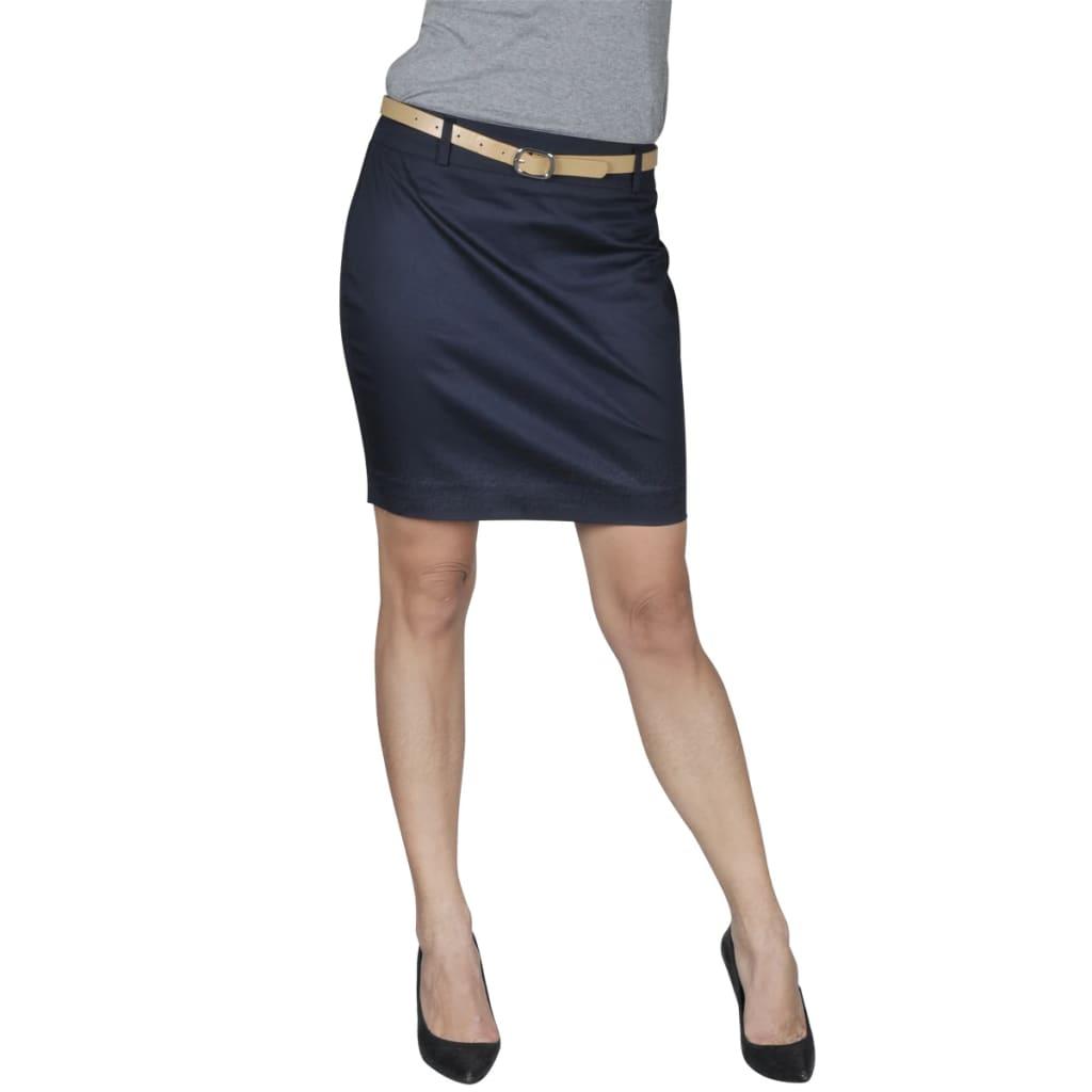Minisukně s páskem, velikost 40, námořnická modrá
