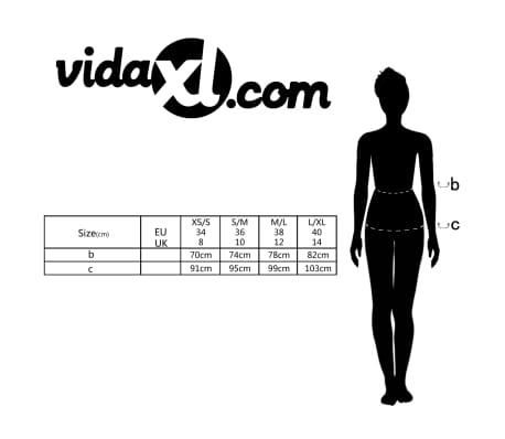 Mini-saia branca de escritório com cinto tamanho 34[5/5]