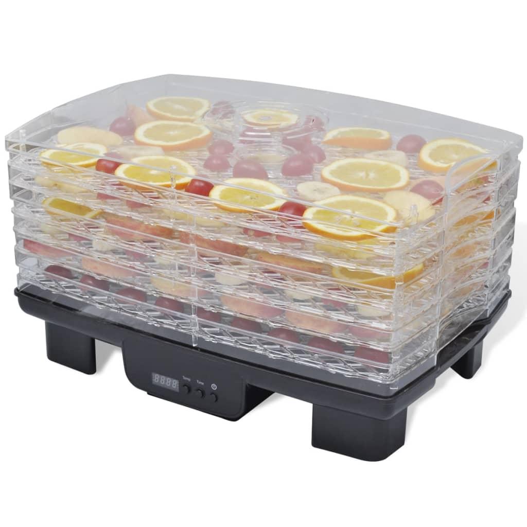 Sušička potravin s 6 stohovatelnými zásobníky (obdélníková)