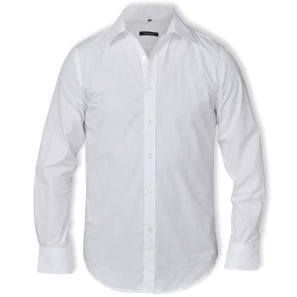 Pánská business košile bílá vel. XL