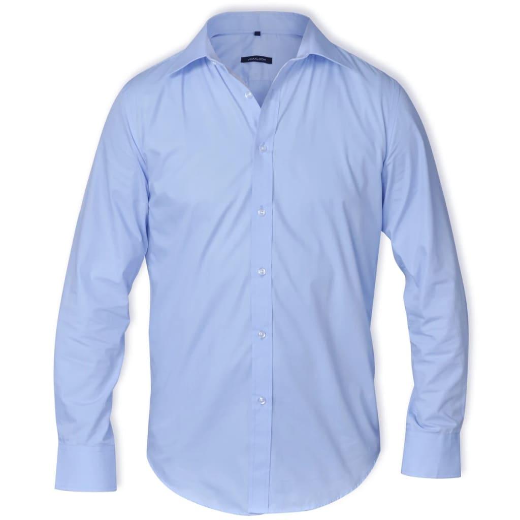 Pánská business košile světle modrá vel. M