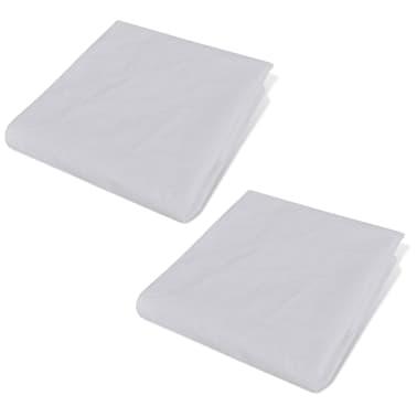 acheter housse de matelas imperm able 2 pi ces 200 x 140 cm pas cher. Black Bedroom Furniture Sets. Home Design Ideas