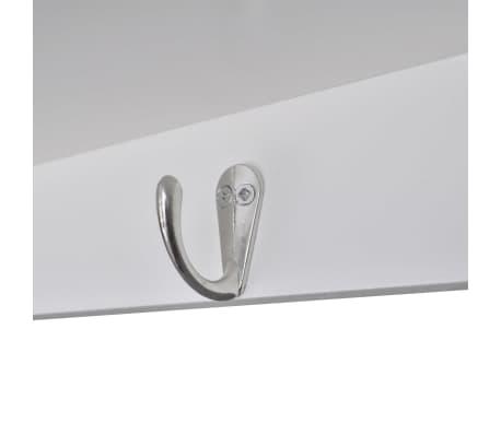 vidaXL Wooden Kitchen Wall Cabinet White[6/8]