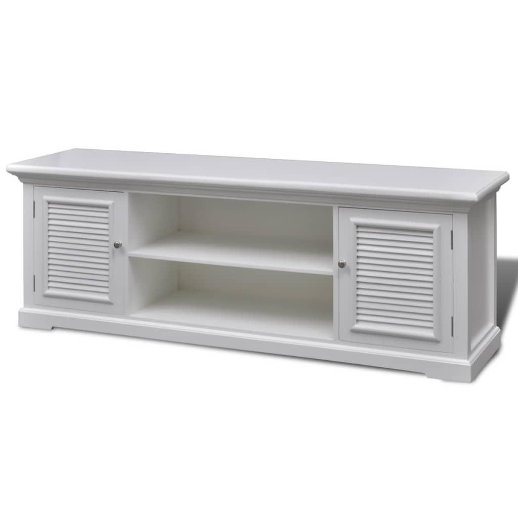 Afbeelding van vidaXL Tv-meubel hout wit
