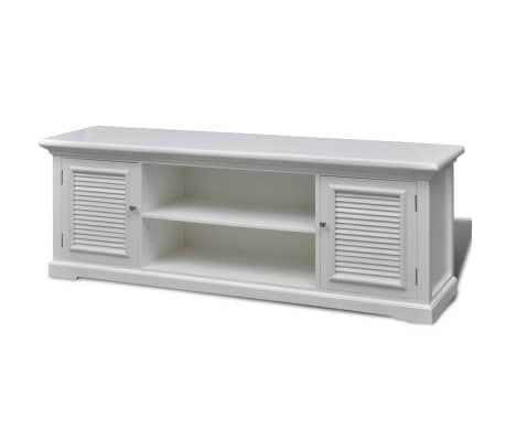 White Wooden TV Stand[2/6]