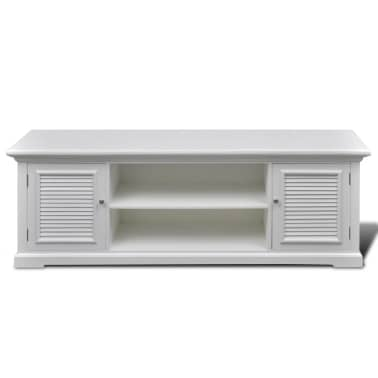 White Wooden TV Stand[3/6]