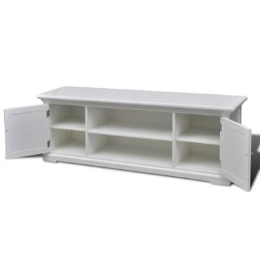 White Wooden TV Stand[4/6]