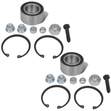 2 pcs Wheel Bearings for Seat VW