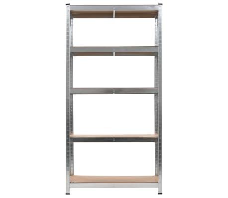 Storage Shelf Silver 2 pcs[3/7]